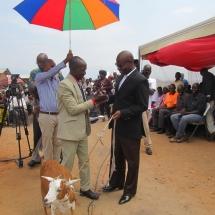 Remise des Maison à Buhomba